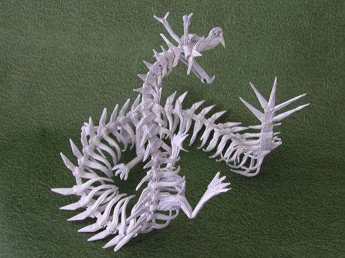 origami dragon eastern dragon