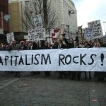 Capitalism rocks rally gives social conscience a whole new meaning.