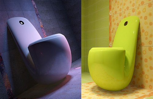Cool designer toilets