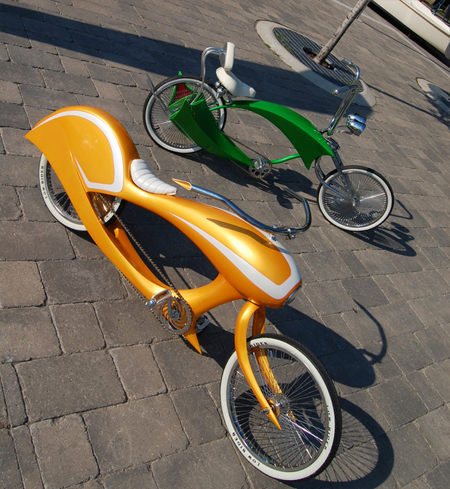 Pictures of very cool bicycles