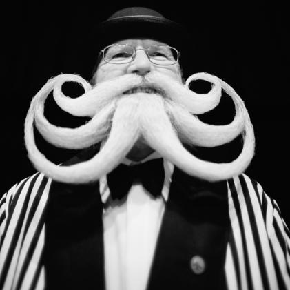 Santa Clause octopus-web beard