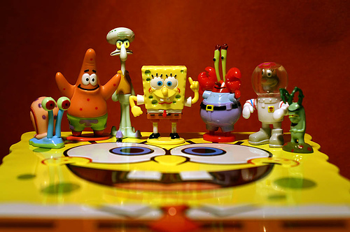 Spongebob and the Bikini Bottom Gang