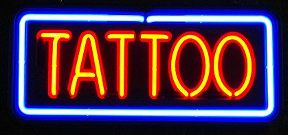 tattoo-neon sign