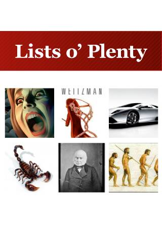 LOP - Lists o' Plenty