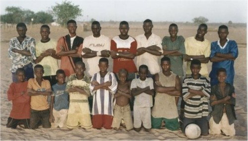 Local African football team - Gambia