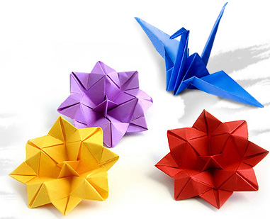 cool origami spike balls