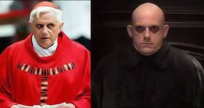 pope-benedict-uncle-fester-could-they-be-brothers