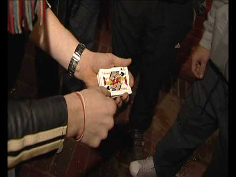 street magic - a card trick gone really really wrong