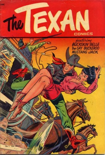 The Texan - A story about a cowboy and a lesbian, and a lesbian cowboy.