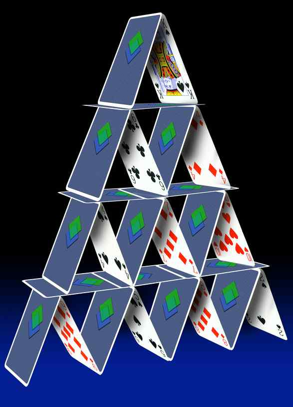 how to build a cool house of cards