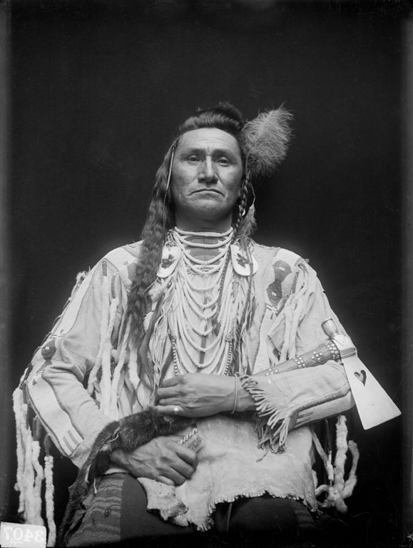 Holds His Enemy (son of Pretty Eagle) - Crow - 1910