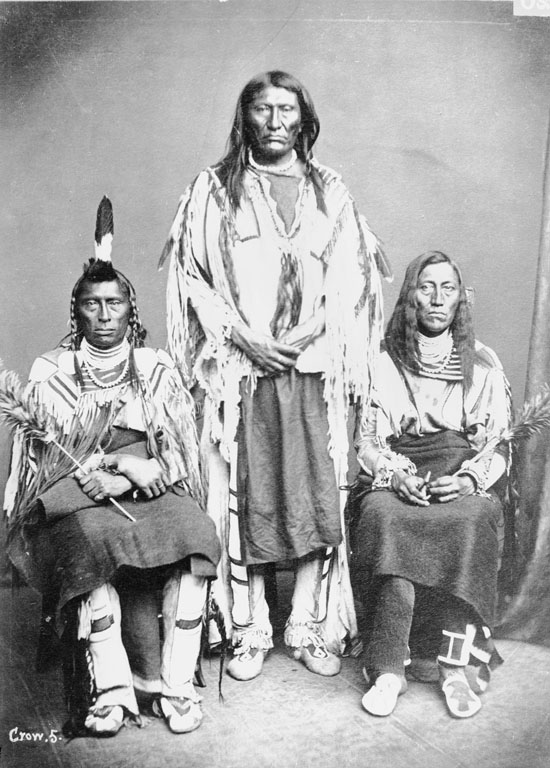 Long Horse, Black Foot, White Calf - Crow - 1873