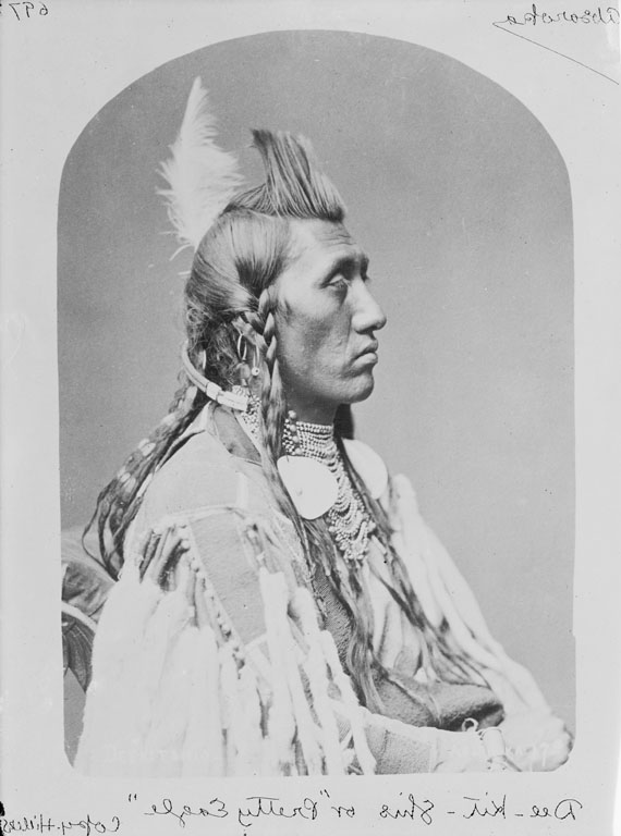 Pretty Eagle - Crow - 1880