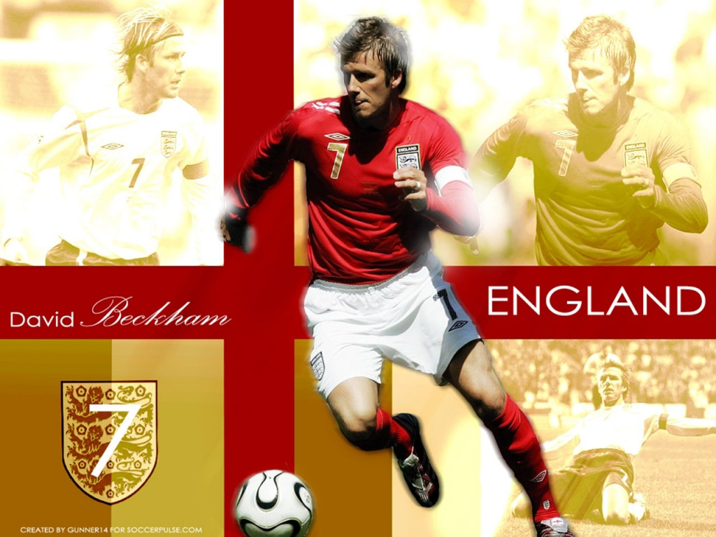FIFA World Cup 2010 - David-Beckham-England