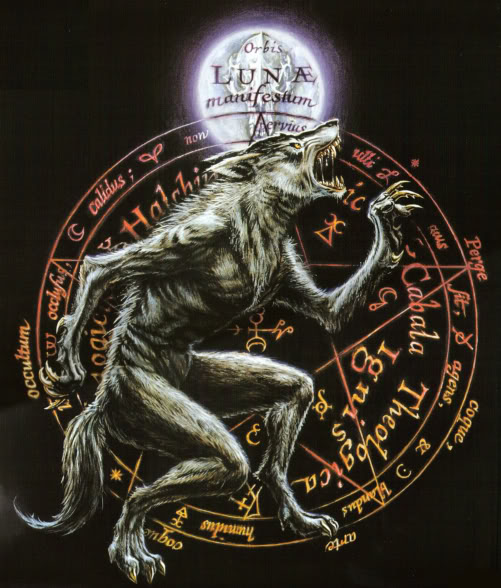 astrological werewolf