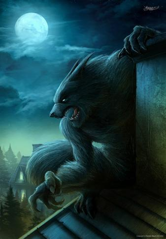 werewolf in the city