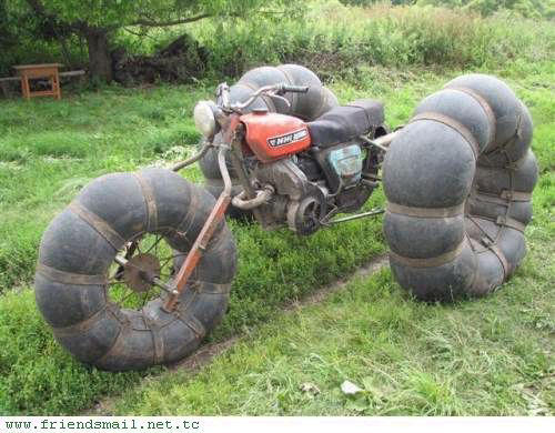 Puffy tire offroad bike - seriously
