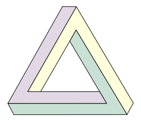 Illlusions - The penrose triangle