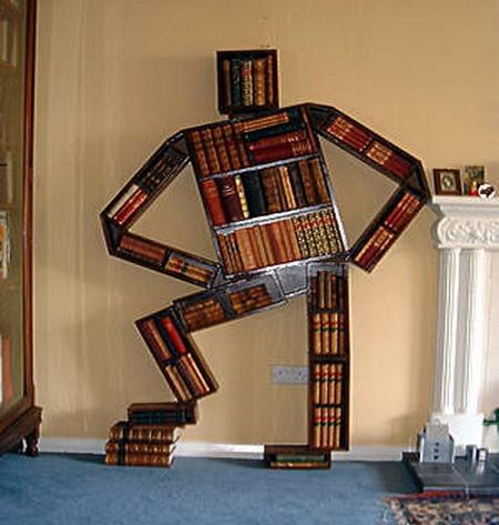 Very unique designer bookshelves pix o 39 plenty - Amazing shelves ...