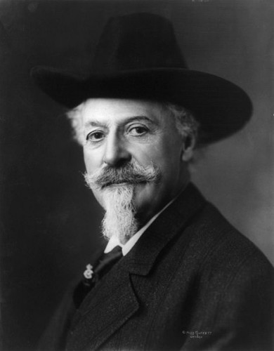 Buffalo Bill Cody moustache