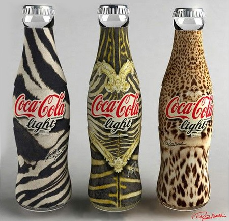 Coke bottle by Natalye Rykiel