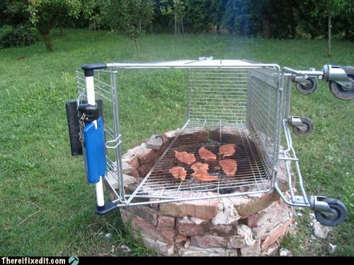 DIY barbeque grill