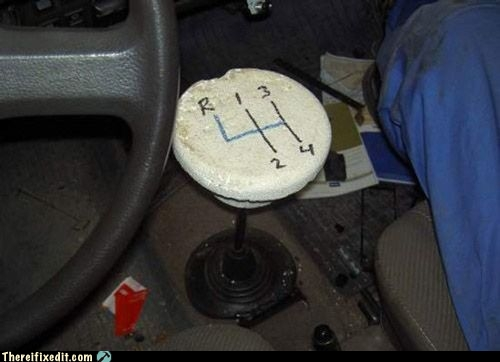 DIY shifter cover