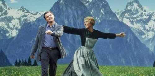 Leonardo de Caprio in the Sound of Music