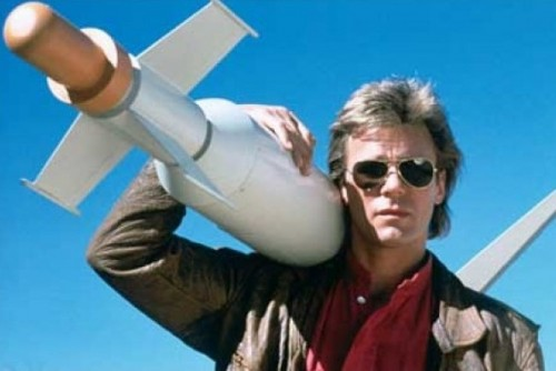 Macgyver can save the world with duct tape