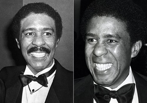 Richard Pryor - mustache before and after