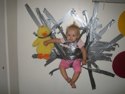 Duct tape can babysit