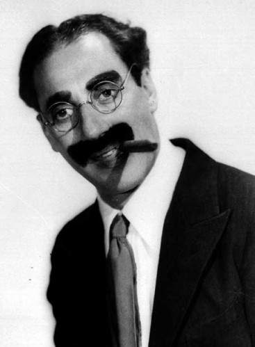 Groucho Marx moustache