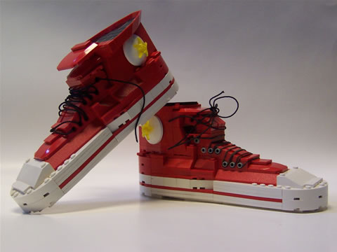 Amazing Lego Creations - Lego Converse All Stars