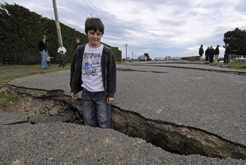 NEW ZEALAND QUAKE CHRISTCHURCH