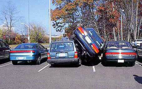Parking fails - really bad parking jobs
