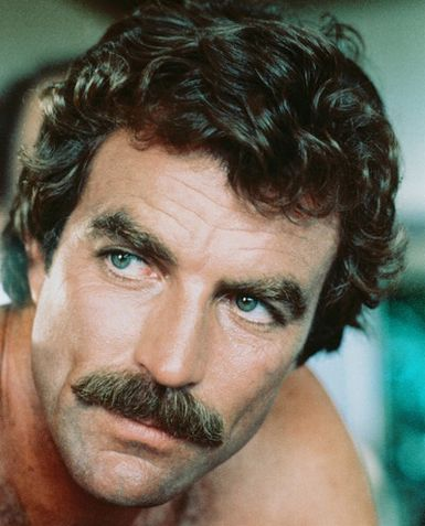 Tom Selleck moustashe