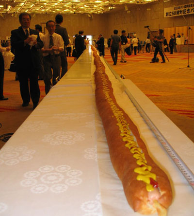 worlds longest hot dog