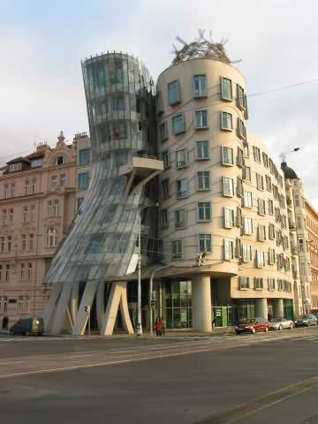 Cool Building called Dancing House
