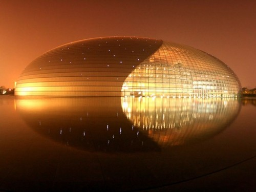 Cool interesting buildings and structures - National Performing Arts Center Beijing