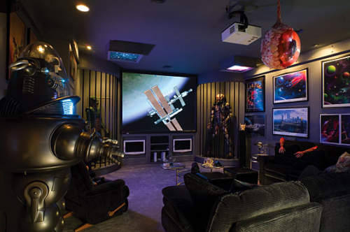 Cool creative unique themed home theatre
