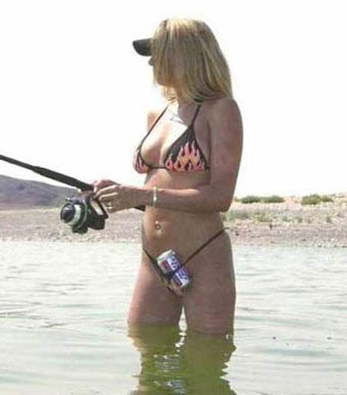 LOL Everything funny pictures and images - you can work up a real thirst fishing - best to always have a beer handy