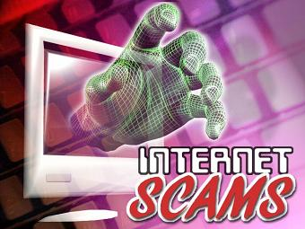 Internet-Scam Infographic