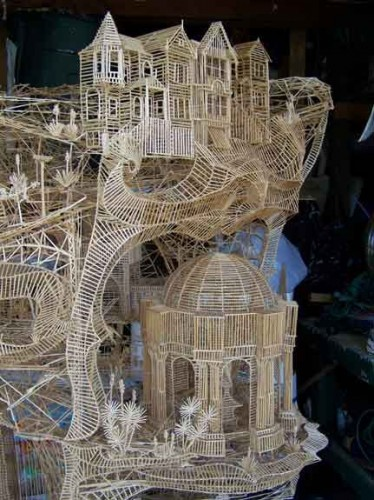 Sculpture-of-toothpicks
