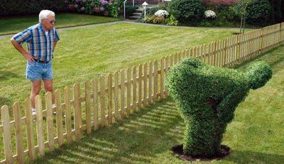 The Mooning Bush - Edward Scissorhands never made anything like this