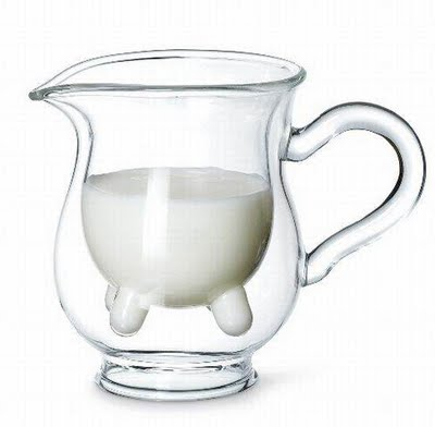Udderly cool design milk jug