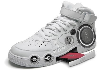 the Inspector Gadget gizmo shoe