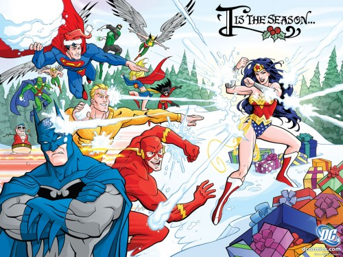 superhero christmas-new year
