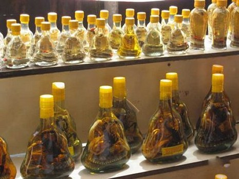 snake wine - just keeps getting better with age