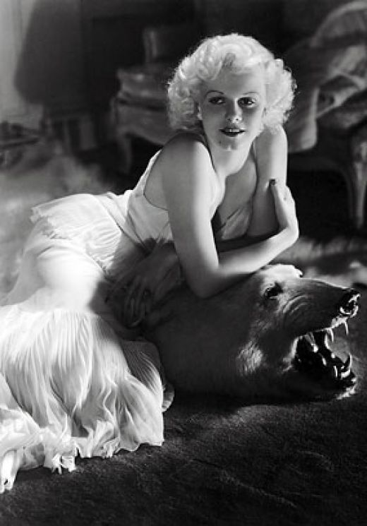 classic pin up girl Jean Harlow