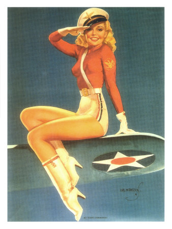 Girl on Old Is Gold  Icons Of The Classic Pin Up Girl Era   Pix O  Plenty